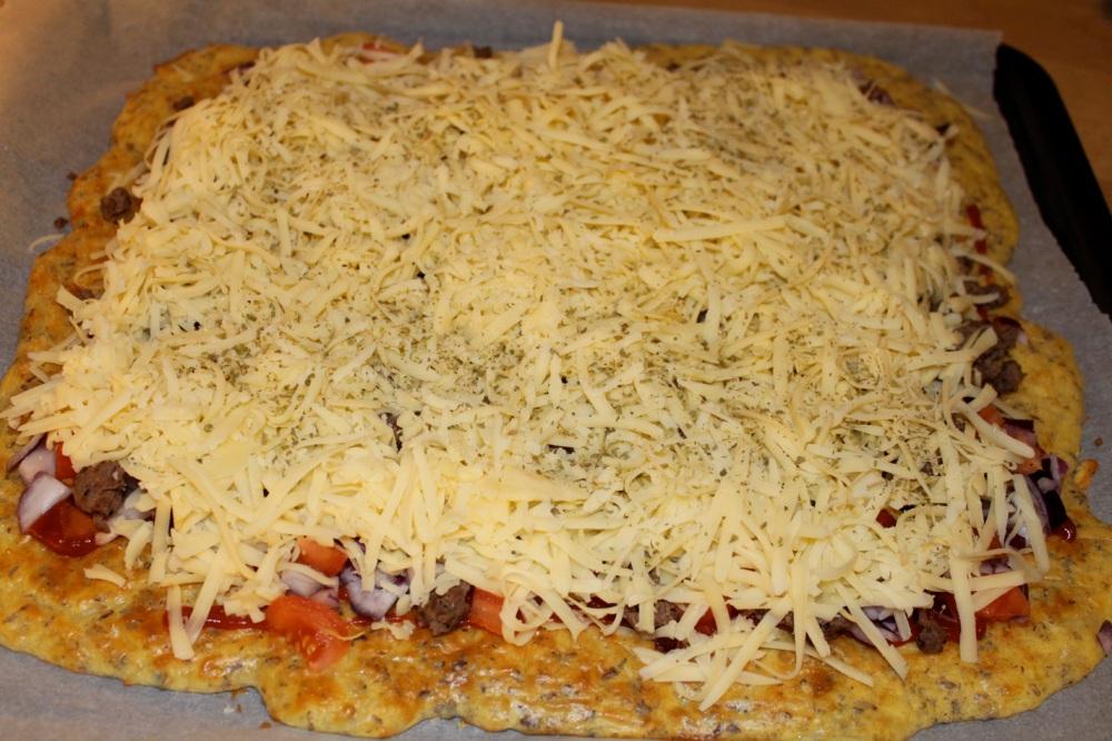 Lavkarbo-pizza (2/3)