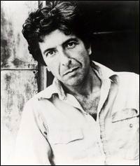 Leonard Cohen som ung
