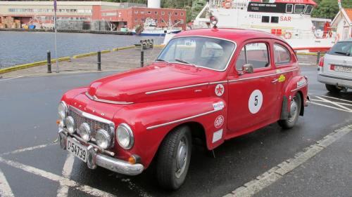Rød PV 1959 modell