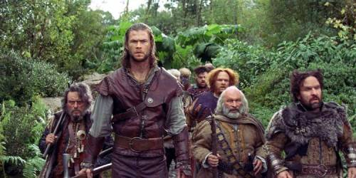 Chris Hemsworth i Snow White and the Huntsman